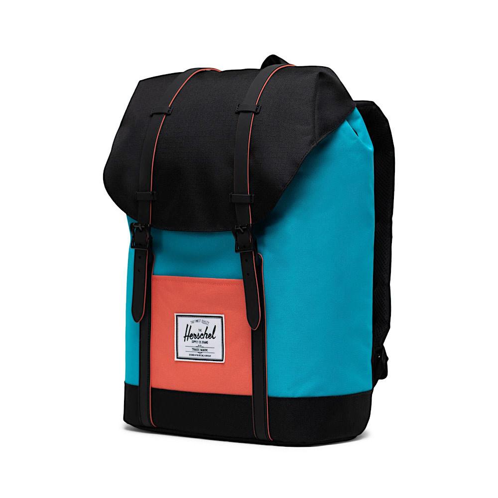 Herschel Retreat Backpack - Blue Bird/Black/Ember