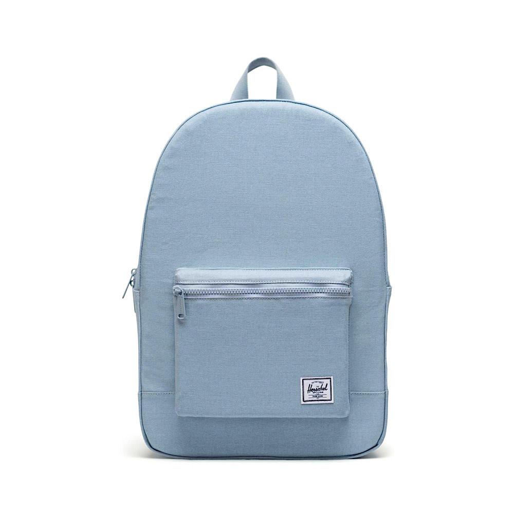 Herschel Cotton Canvas Daypack - Blue Fog
