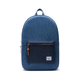 Herschel Supply Co. Herschel Settlement Backpack - Faded Denim/Indigo Denim