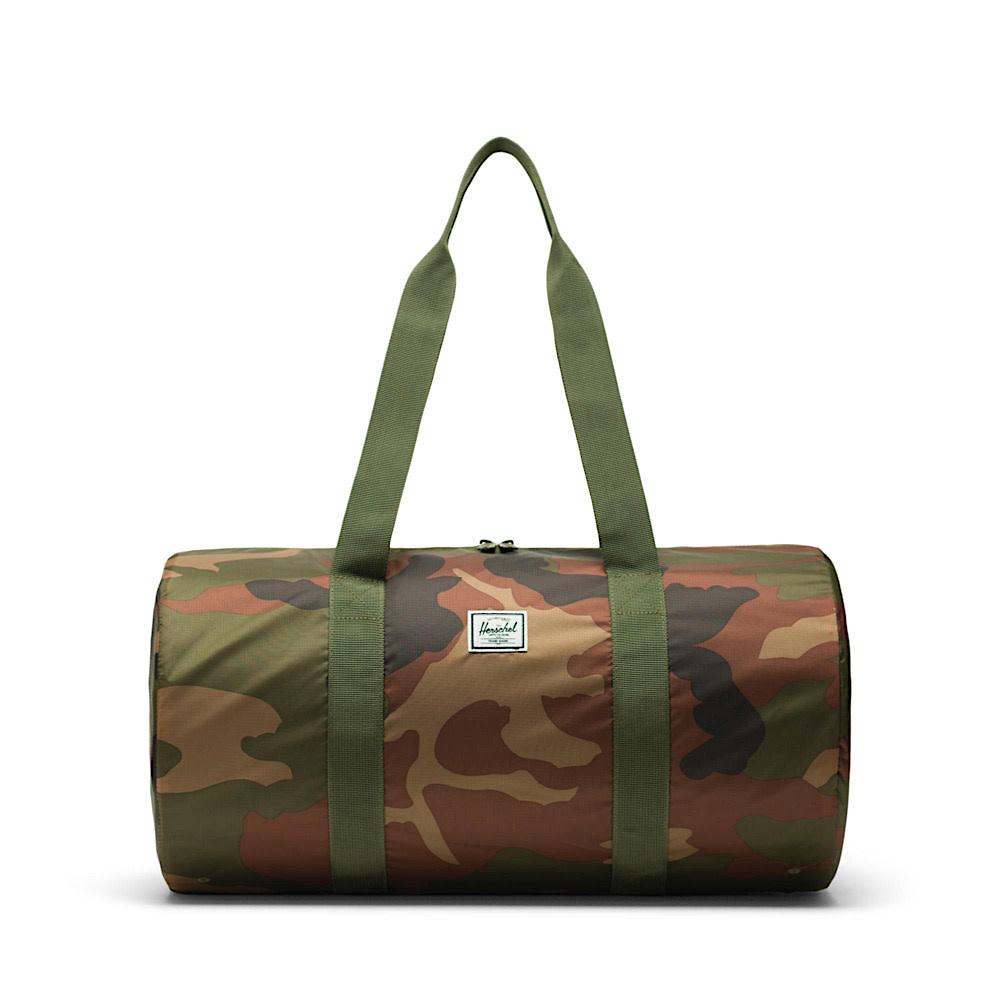 Herschel Packable Duffle Ripstop - Woodland Camo