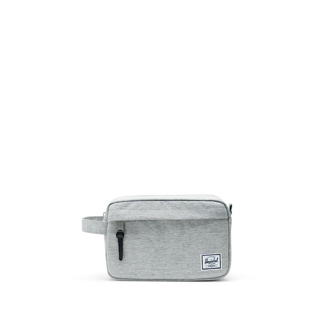 Herschel Chapter Dopp Bag - Light Grey Crosshatch