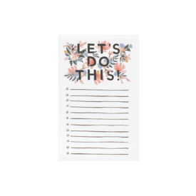 Rifle Paper Co. Rifle Paper Co. Notepad - Let's Do This