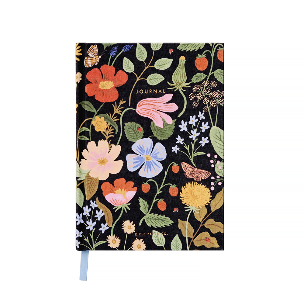 Rifle Paper Co. Fabric Journal - Strawberry Fields