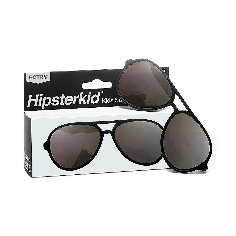 Hipsterkid Classic Aviator Sunglasses - Black