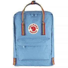 Fjallraven Arctic Fox LLC Fjallraven Kanken Classic Backpack - Air Blue Rainbow Pattern