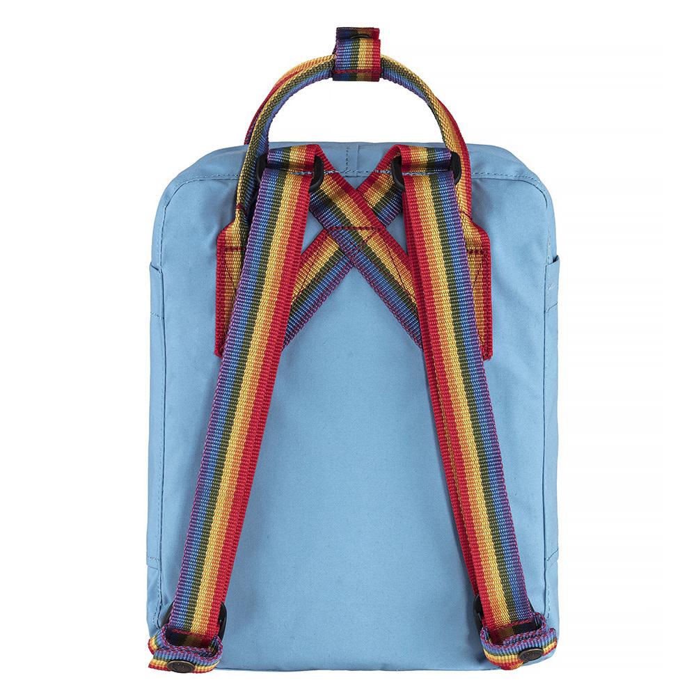 Fjallraven Kanken Mini Backpack - Air Blue Rainbow