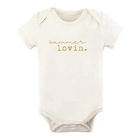 Tenth & Pine Tenth & Pine Short Sleeve Bodysuit - Summer Lovin' Goldenrod