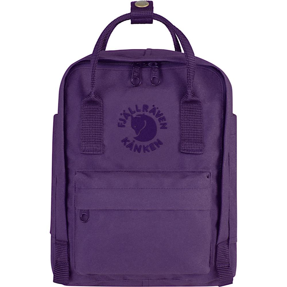 Fjallraven Re-Kanken Mini Backpack - Deep Violet