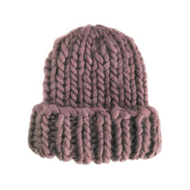 The Blueberry Hill The Blueberry Hill Adult Hat Chunky Beanie Mauve L