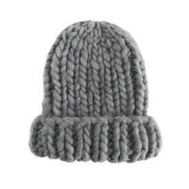 The Blueberry Hill The Blueberry Hill Adult Hat Chunky Beanie Zinc L