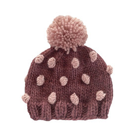 The Blueberry Hill The Blueberry Hill Popcorn Hat Mauve and Blush