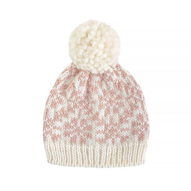 The Blueberry Hill The Blueberry Hill Baby Hat Snowfall Blush