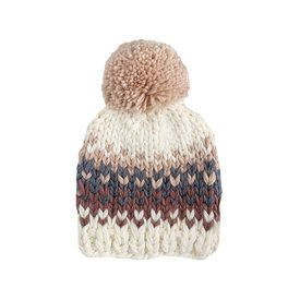 The Blueberry Hill The Blueberry Hill Baby Hat Will Stripe Blush