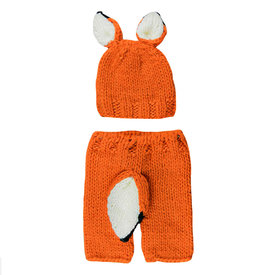 The Blueberry Hill The Blueberry Hill Baby Outfit Set Rusty Fox NB