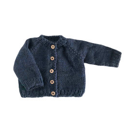 The Blueberry Hill The Blueberry Hill Classic Cardigan Navy