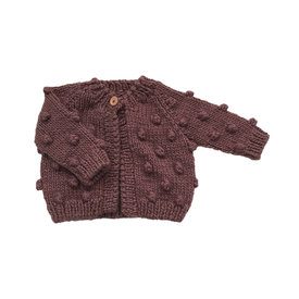 The Blueberry Hill The Blueberry Hill Popcorn Cardigan Mauve