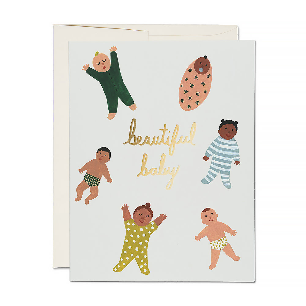 Red Cap Cards Red Cap Cards - Beautiful Baby