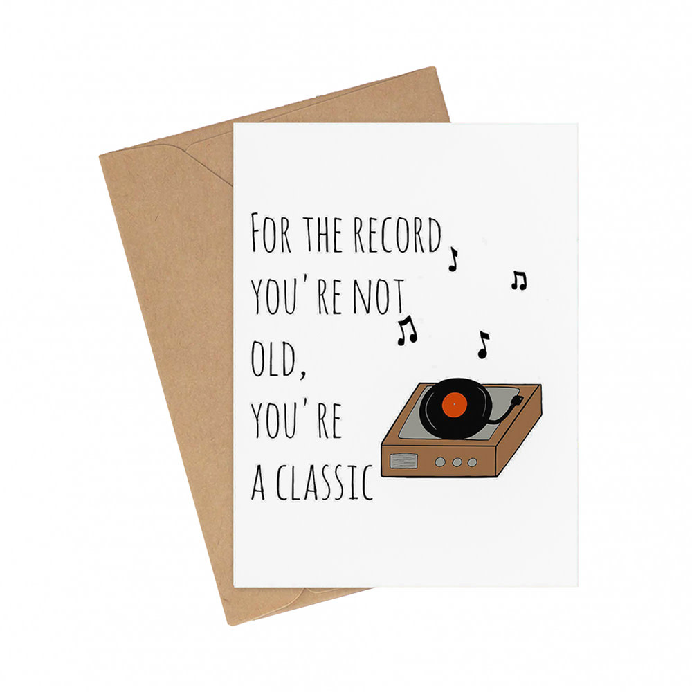 Siyo Boutique - You're A Classic Card