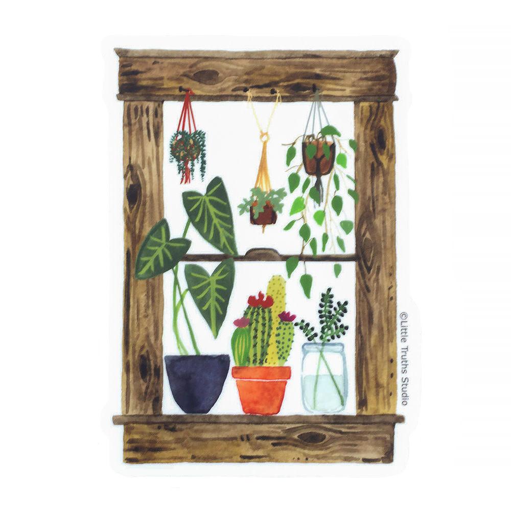 Little Truths Plants Window Sticker