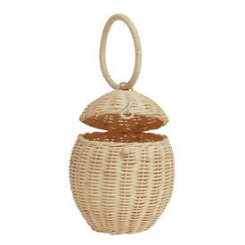 Olli Ella Olli Ella Rattan Egg Basket