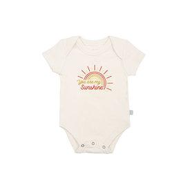 Finn & Emma Finn & Emma Lap Shoulder Bodysuit - You Are My Sunshine