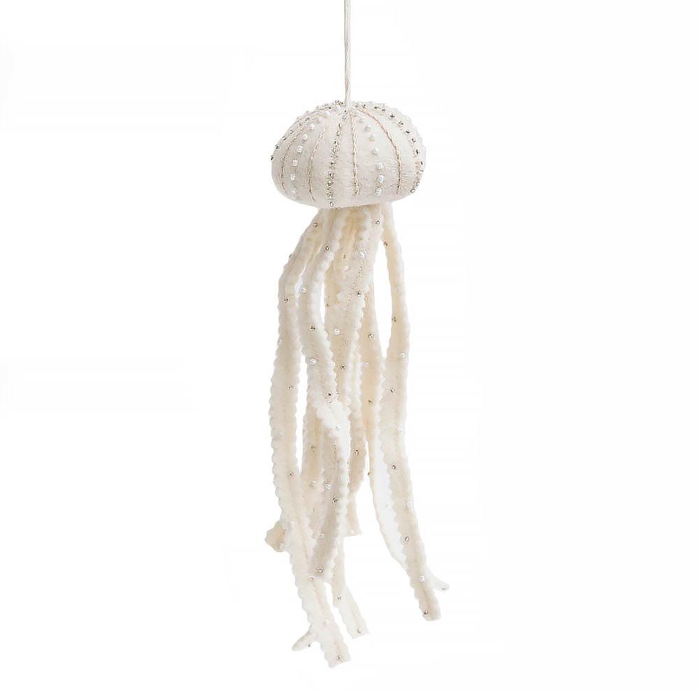 Craftspring White Jellyfish Ornament
