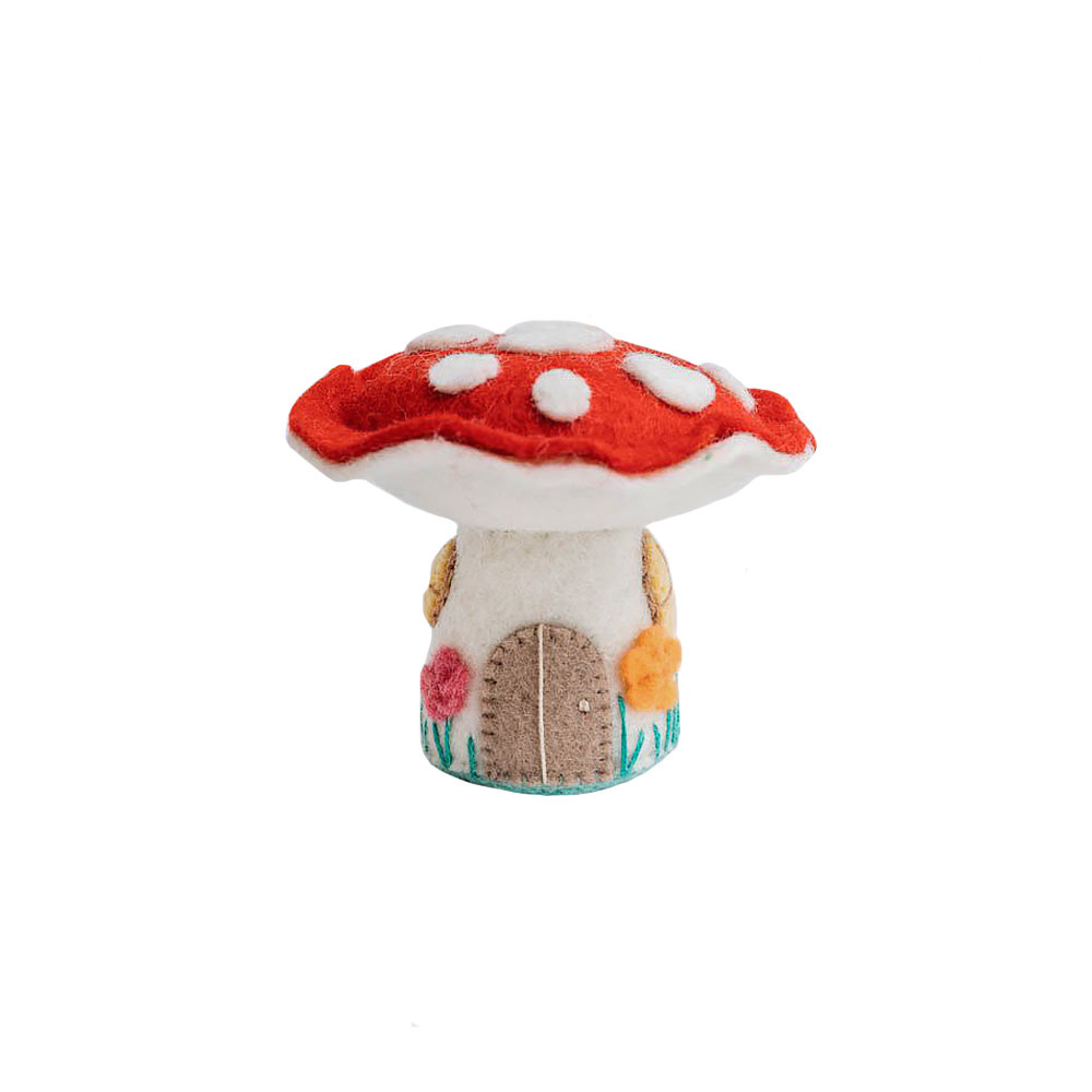 Craftspring Magic Fairy House Mushroom Ornament