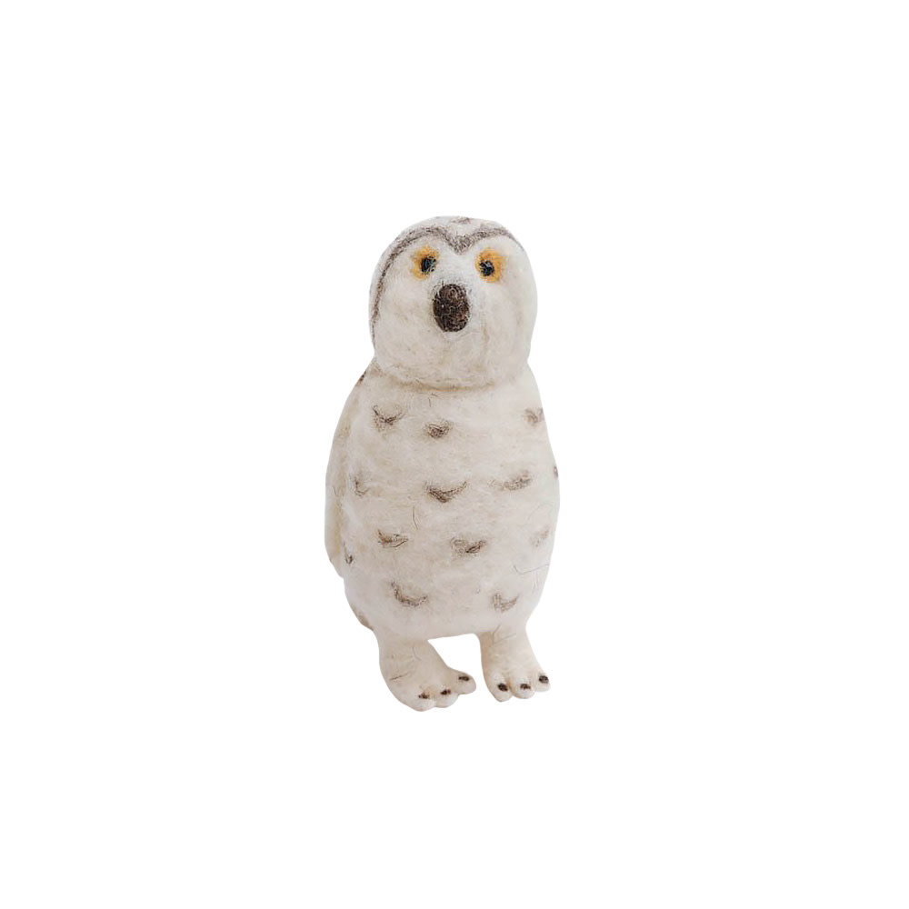 Craftspring Snowy Night's Owl Ornament