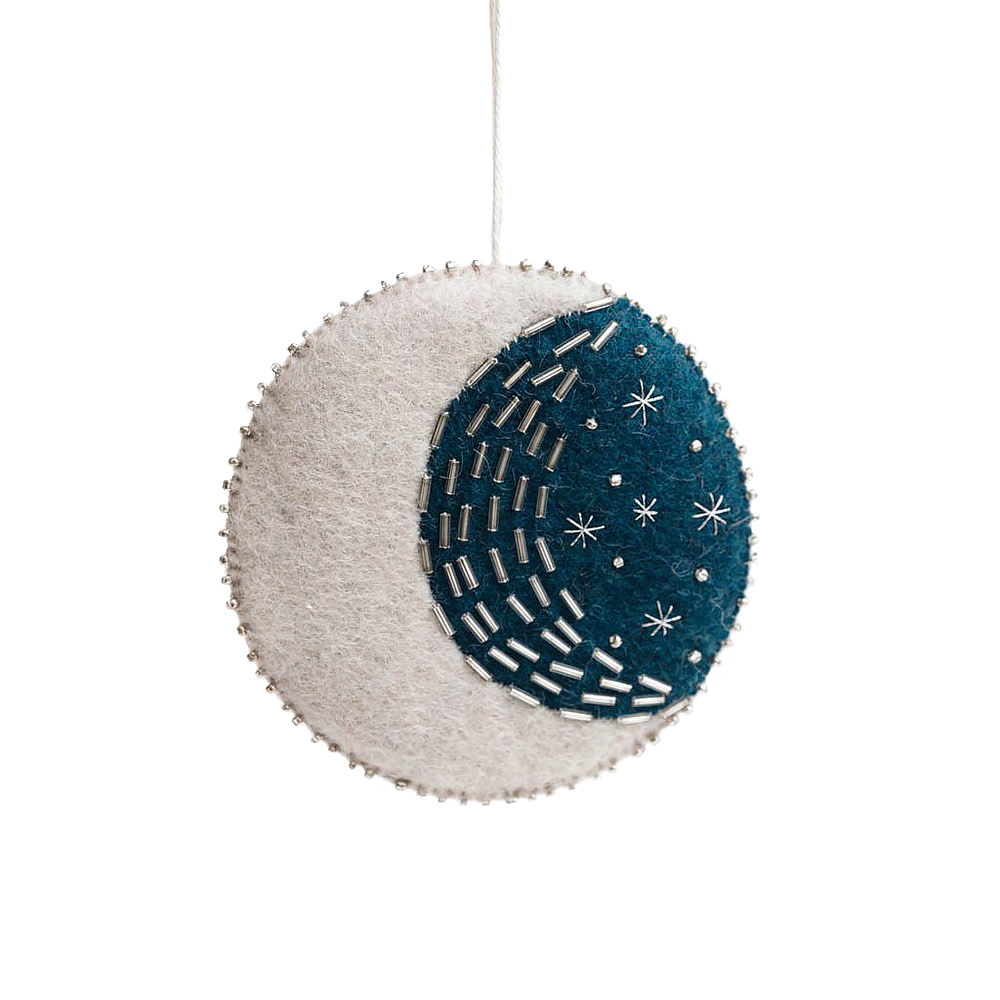 Craftspring Blue Moon Blessings Ornament