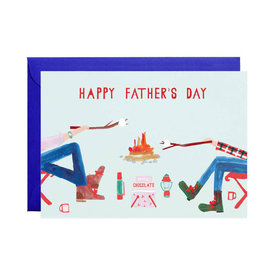 Mr. Boddington's Studio Mr. Boddington's Studio Fire Chat Father's Day Card