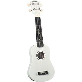 Saga Musical Instruments Diamond Head Ukulele - White