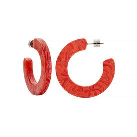 Machete Machete - Kate Hoop Earrings - Poppy