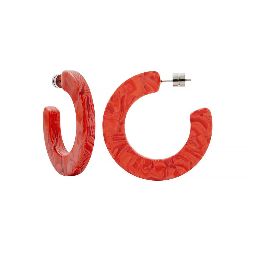 Machete - Kate Hoop Earrings - Poppy