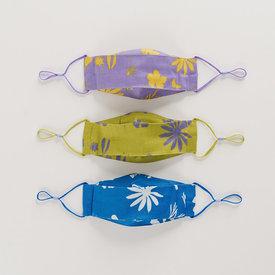 Baggu Baggu Kids Fabric Mask Set - Floral Sun Prints