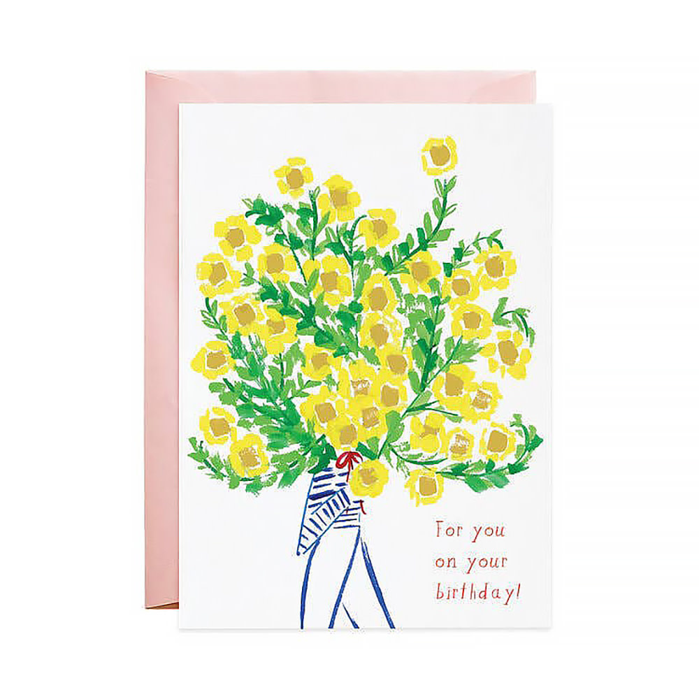 Mr. Boddington's Studio Biggest Bouquet Birthday Card