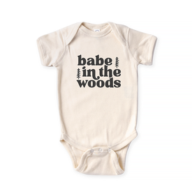 Hills & Trails Co. Hills & Trails Babe In The Woods Onesie