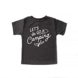 Hills & Trails Co. Hills & Trails Kids Tee - Let's Go Camping - Dark Olive