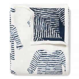 Chappywrap Chappywrap Blanket - Sara Fitz Striped Shirt