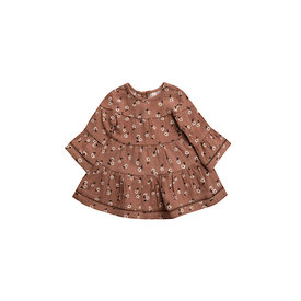 Quincy Mae Quincy Mae Belle Dress - Clay Ditsy