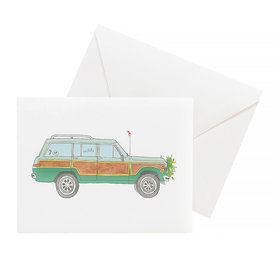 Sara Fitz Sara Fitz Card - Holiday Wagoneer
