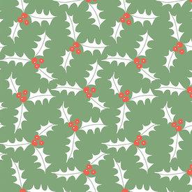 Sara Fitz Sara Fitz Wrapping Paper - Holly