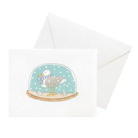 Sara Fitz Sara Fitz Box of 8 Cards - Snow Globe