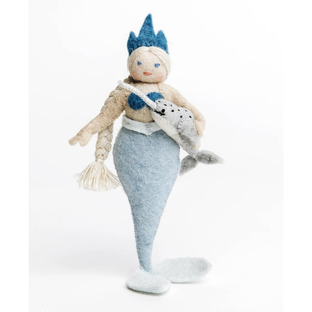Craftspring Arctic Queen Mermaid with Narwhal