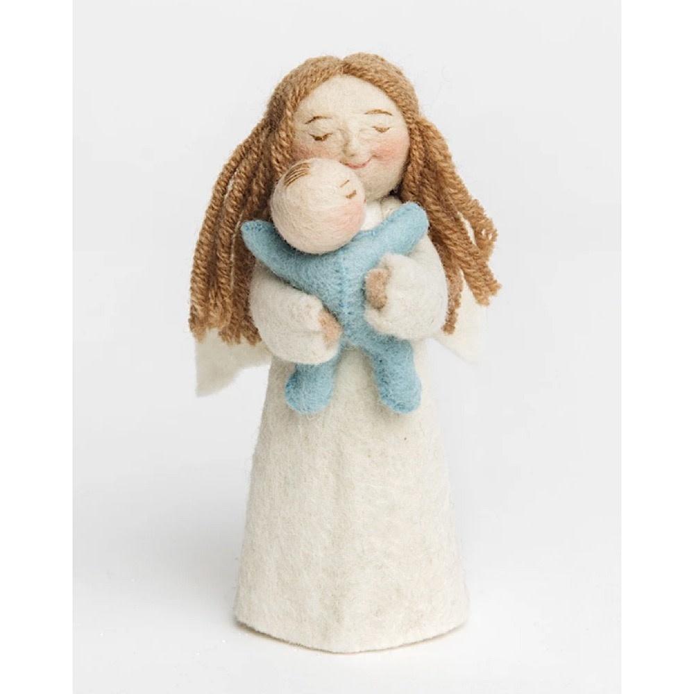 Craftspring Mother's Presence Angel - Blue