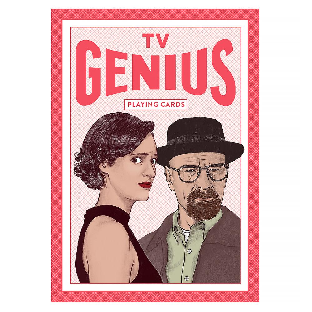 TV Genius Playing Cards