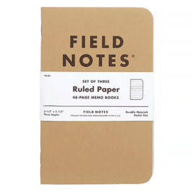 Field Notes Field Notes - Ruled Three Pack