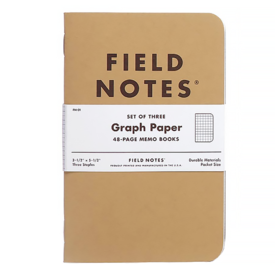 Field Notes Graph Three Pack