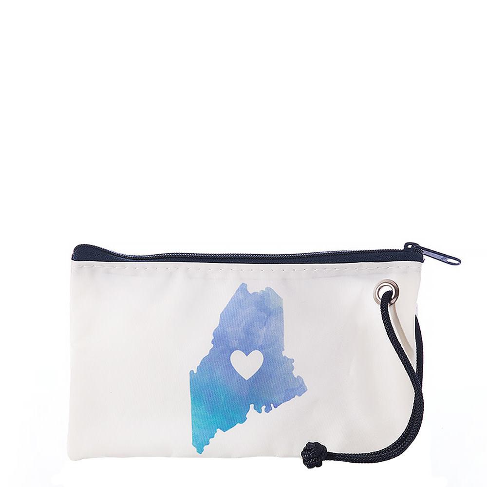 Sea Bags Sea Bags Wristlet - Watercolor Maine