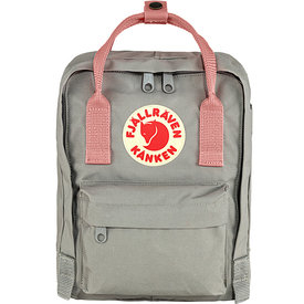 Fjallraven Arctic Fox LLC Fjallraven Kanken Mini Backpack - Fog/Pink