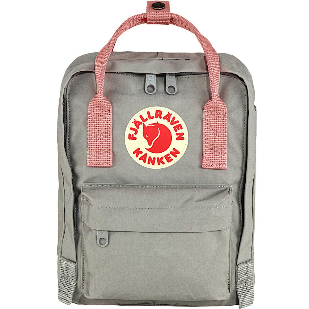 Fjallraven Kanken Mini Backpack - Fog/Pink